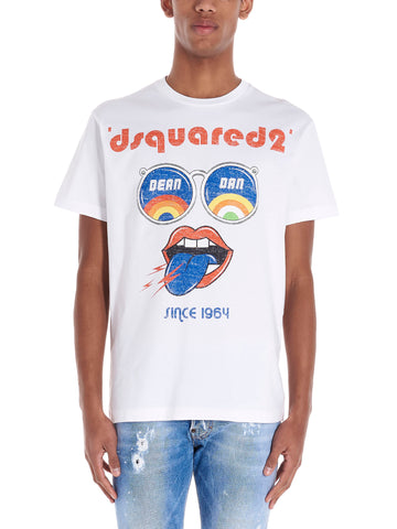 Dsquared2 Rainbow Face T-Shirt