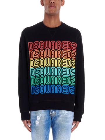 Dsquared2 Rainbow Logo Sweatshirt
