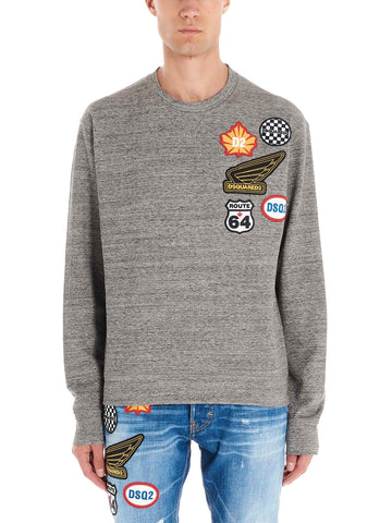 Dsquared2 Patch Sweatshirt