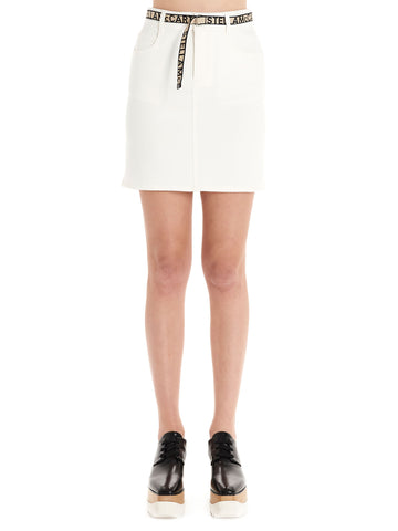 Stella McCartney Logo Belt Skirt