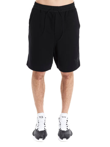 Y-3 Logo Drawstring Shorts