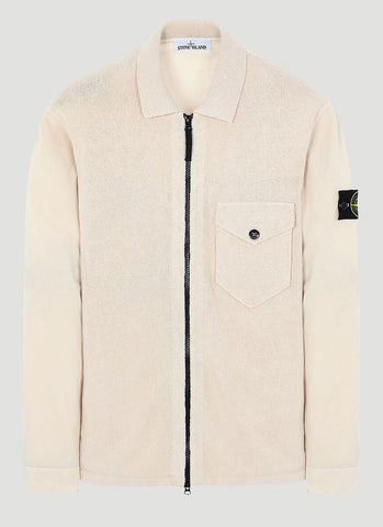 Stone Island Knitted Zipped Cardigan