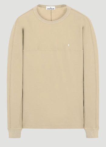 Stone Island Embroidered Logo Sweatshirt