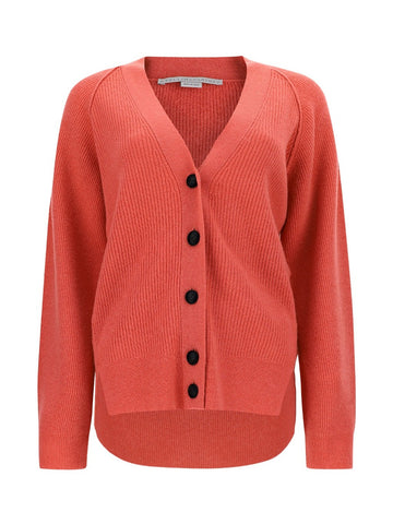 Stella McCartney Side Slit Knit Cardigan