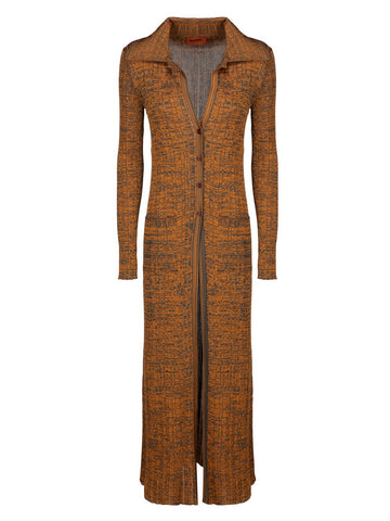 Missoni Rib Knit Long-Line Cardigan