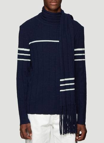 JW Anderson Scarf Knit Sweater