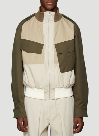 JW Anderson Colour Block Bomber Jacket