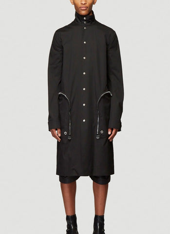 Rick Owens Buttoned Trench Coat