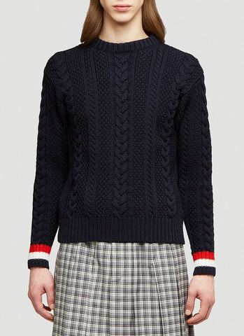 Thom Browne Knitted Sweater