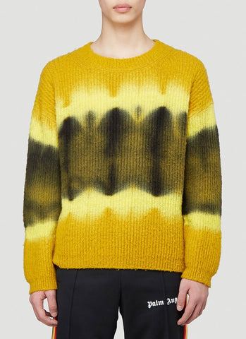 Palm Angels Tie Dye Knitted Sweater