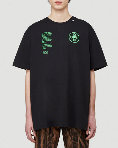 Off-White Printed Oversized T-Shirt