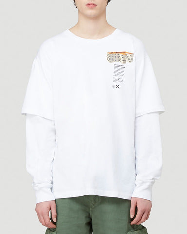 Off-White Building Print T-Shirt