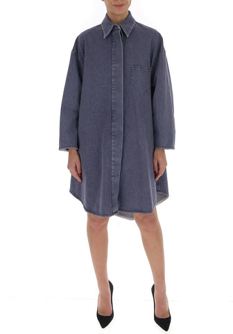 Mm6 Maison Margiela A-Line Denim Coat