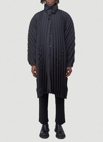 Homme Plissé Issey Miyake Pleated Coat