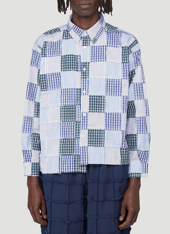 Martine Rose Patchwork Shirt