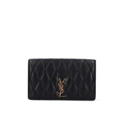 Saint Laurent Angie Quilted Chain Bag