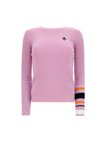 Valentino Striped Sleeve Pullover
