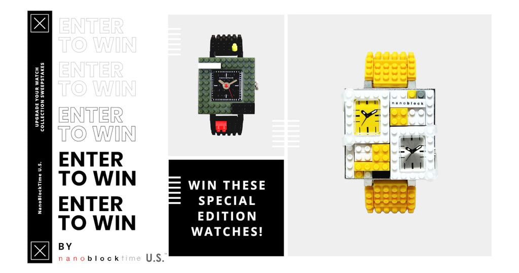 Giveaway! Upgrade Your Watch Collection Sweepstakes