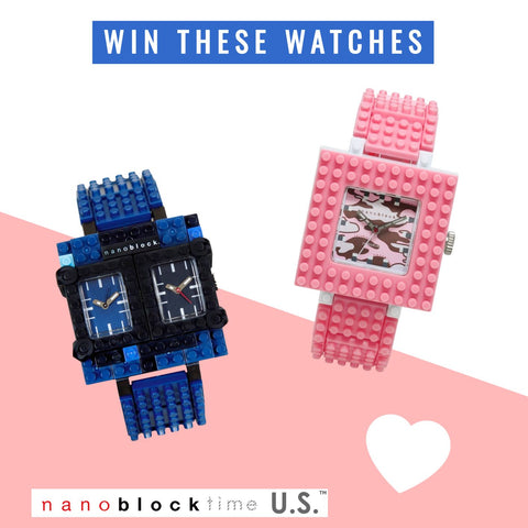 NanoBlockTime Sweepstakes - Win a NanoBlock Watch