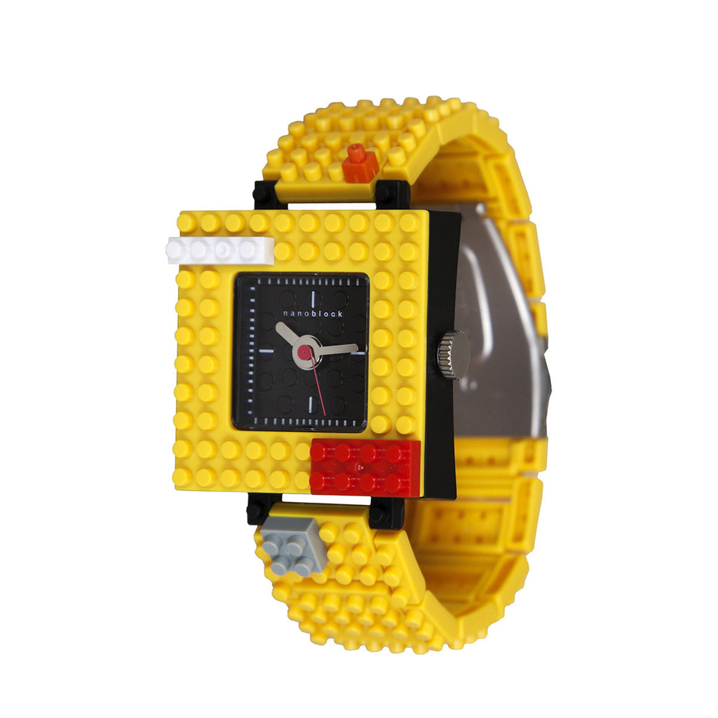 Nanoblocktime Nano Squared Watch - Yellow