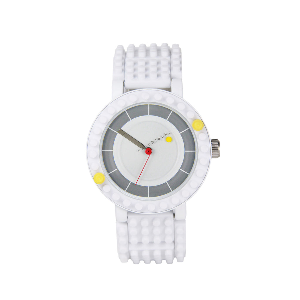 Nanoblocktime All Rounder Watch - White