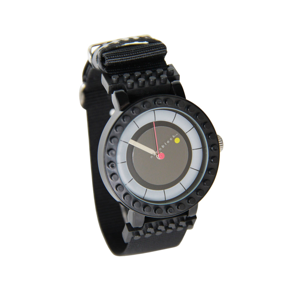 Nanoblocktime All Rounder Watch - Black