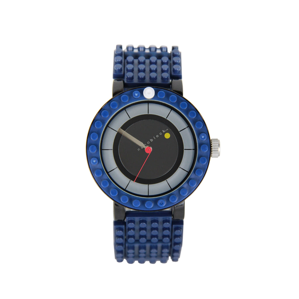 Nanoblocktime All Rounder Watch - Blue and Black