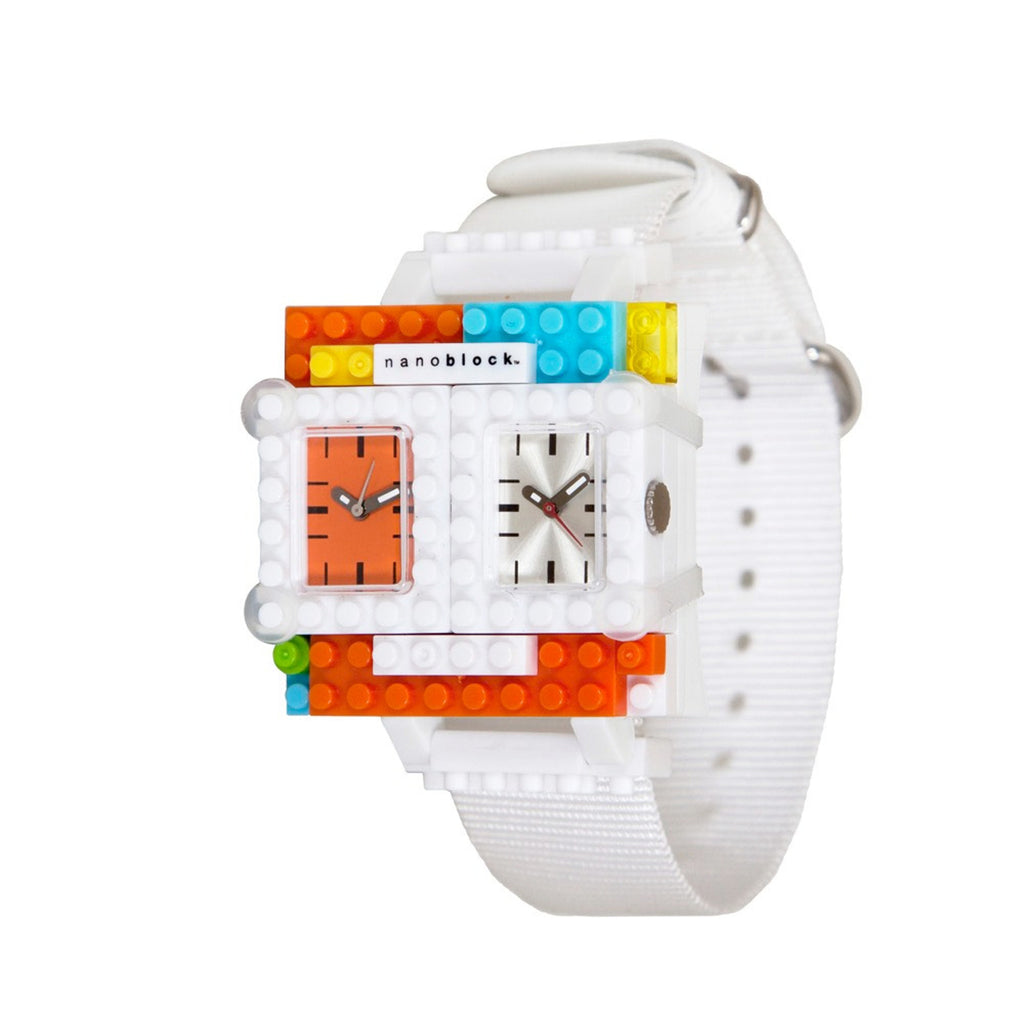 Nanoblocktime Traveler Watch - Orange