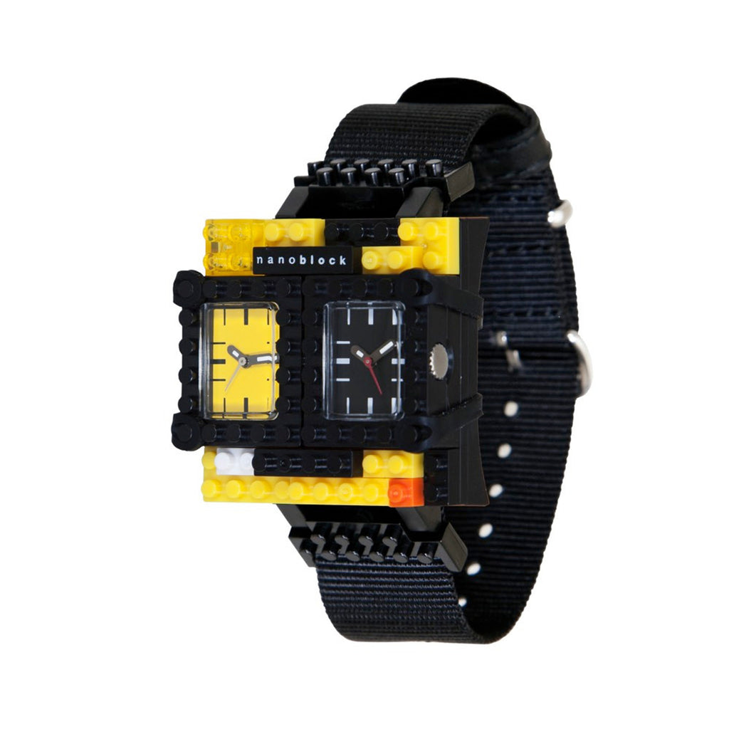 Nanoblocktime Traveler Watch - Yellow