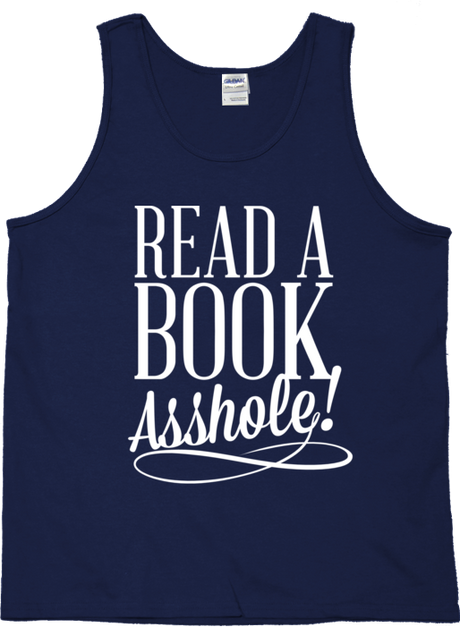 READ A BOOK TANK TOP