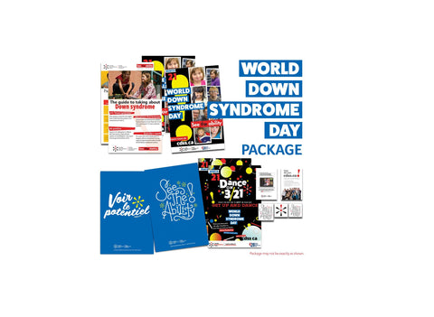 World Down Syndrome Day Celebration Package - Limit 1 per school/organization