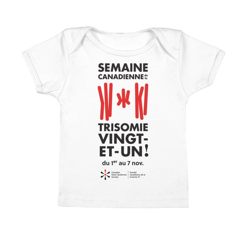 Semaine Canadienne de la trisomie 21 - Baby - T-Shirt (From Printful)