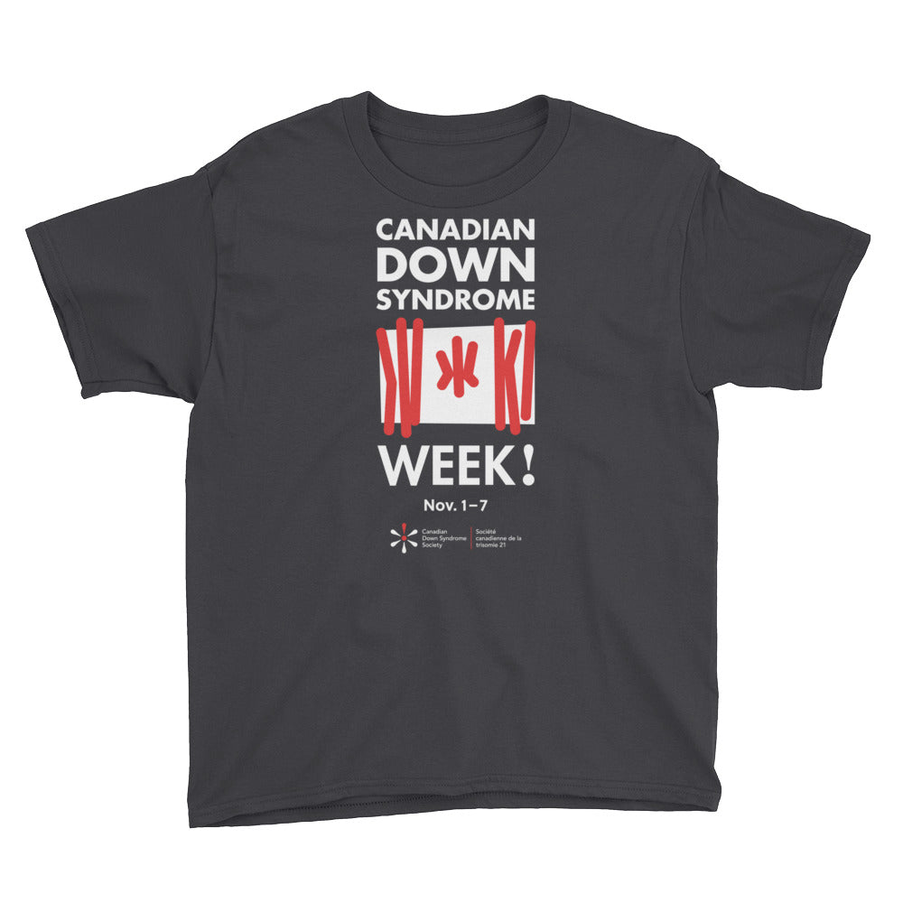 Canadian Down Syndrome Week - Youth - T-Shirt (From Printful)