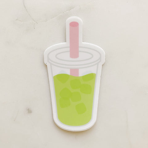 Matcha sticker