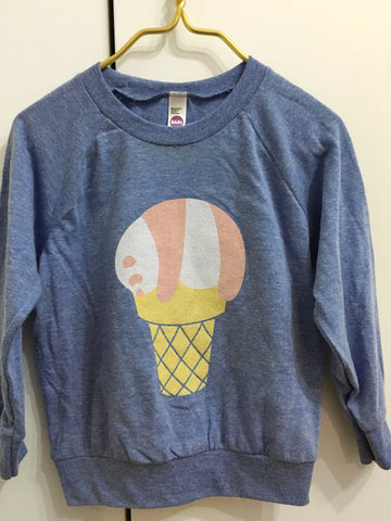 Panda Ice Cream Pullover - Kids