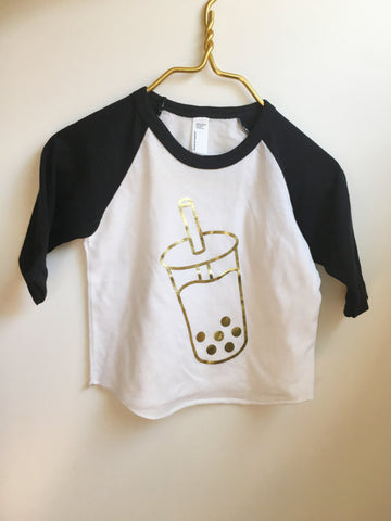 Boba Milk Tee - Kids