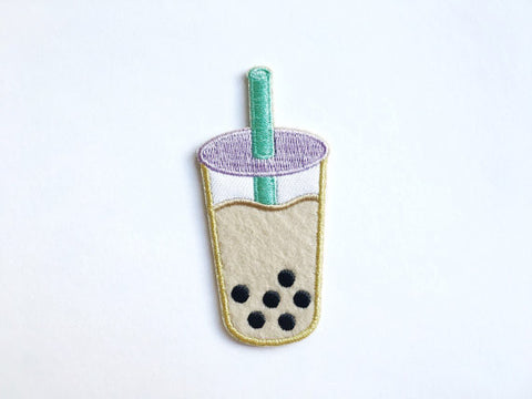 Boba Milk Tea Patch