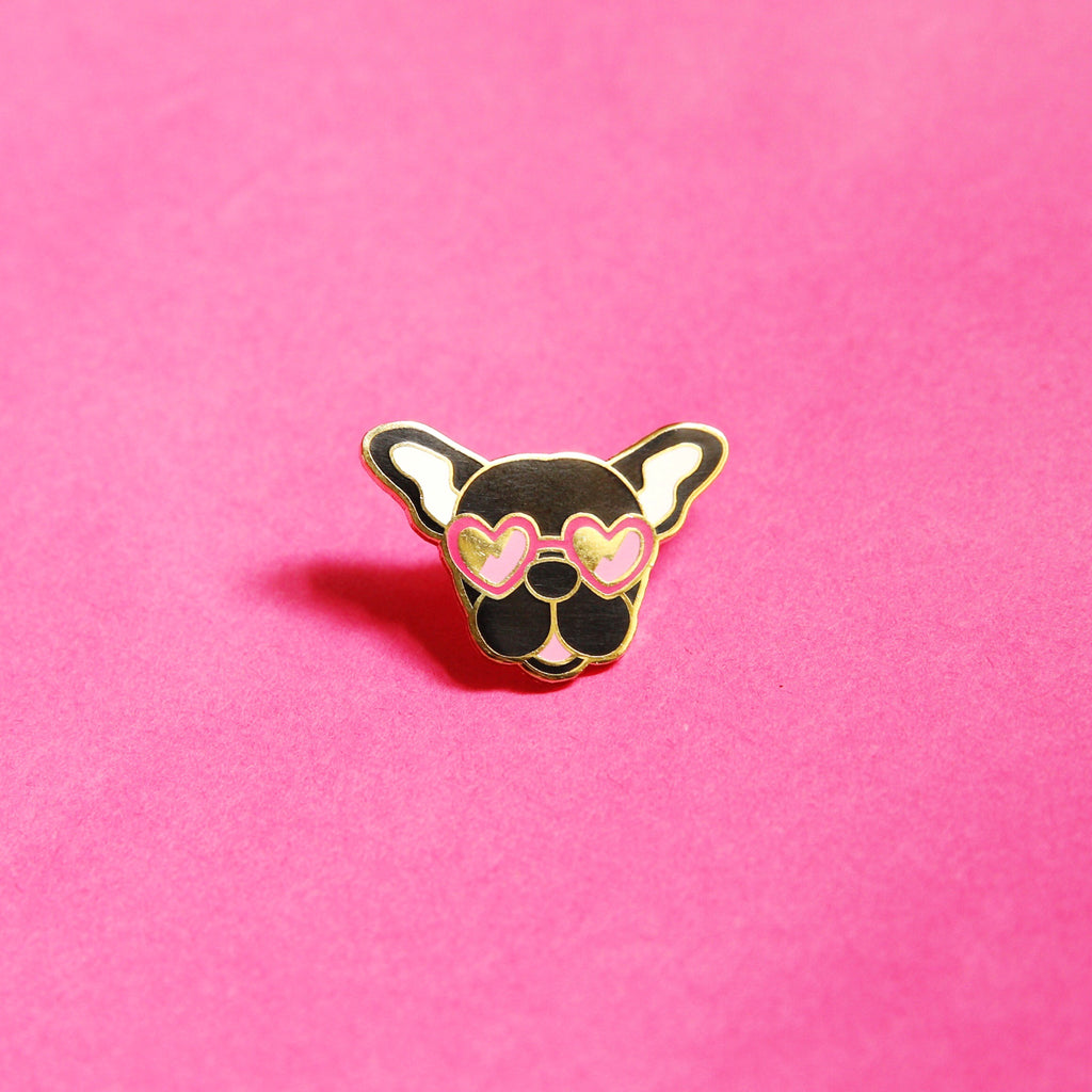 Frenchie Pin - Black