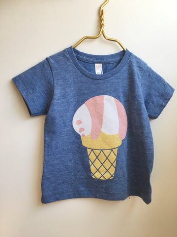 Panda Ice Cream T-Shirt - Kids