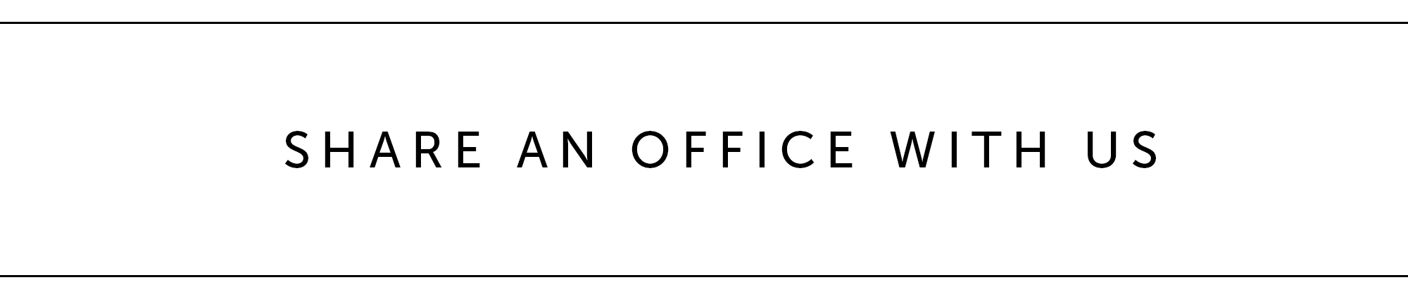 Share an office with us