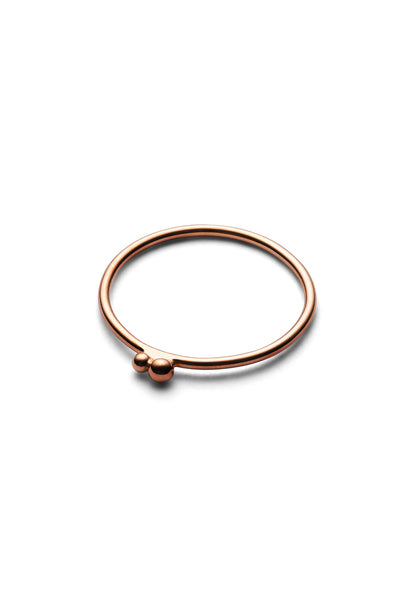 2 POLLEN RING · ROSE GOLD