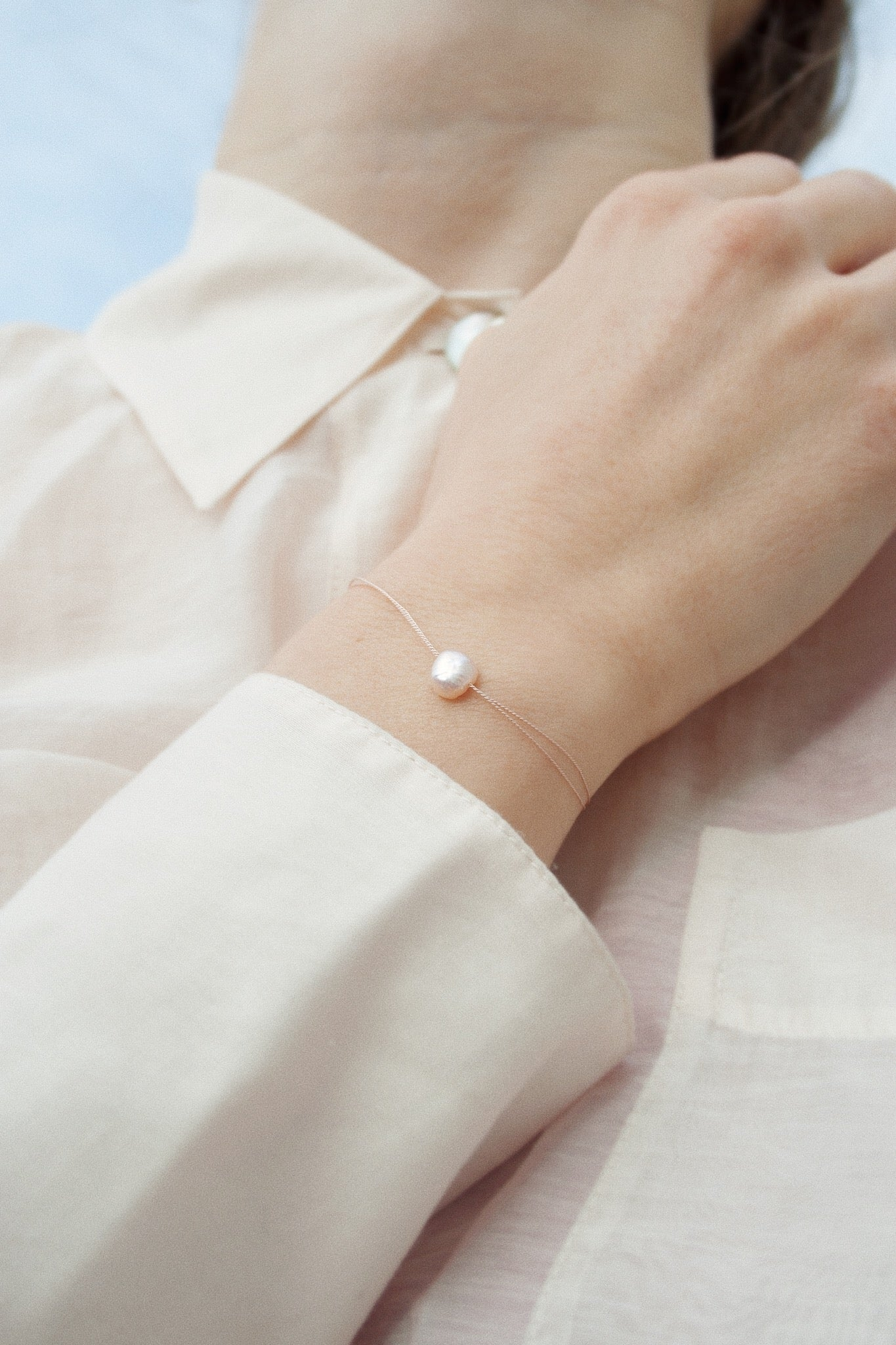 GOOD LUCK BRACELET PEARL