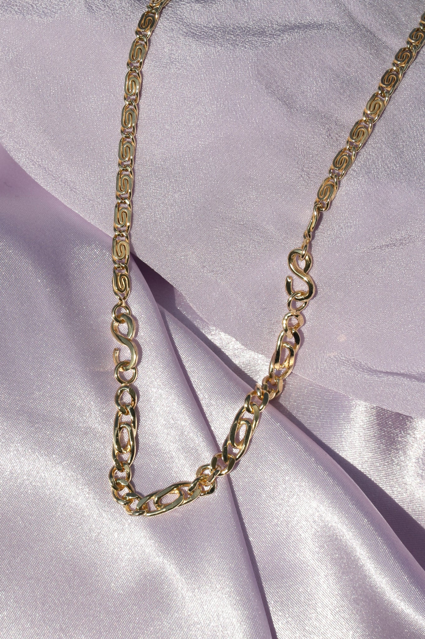 2 CHAIN NECKLACE