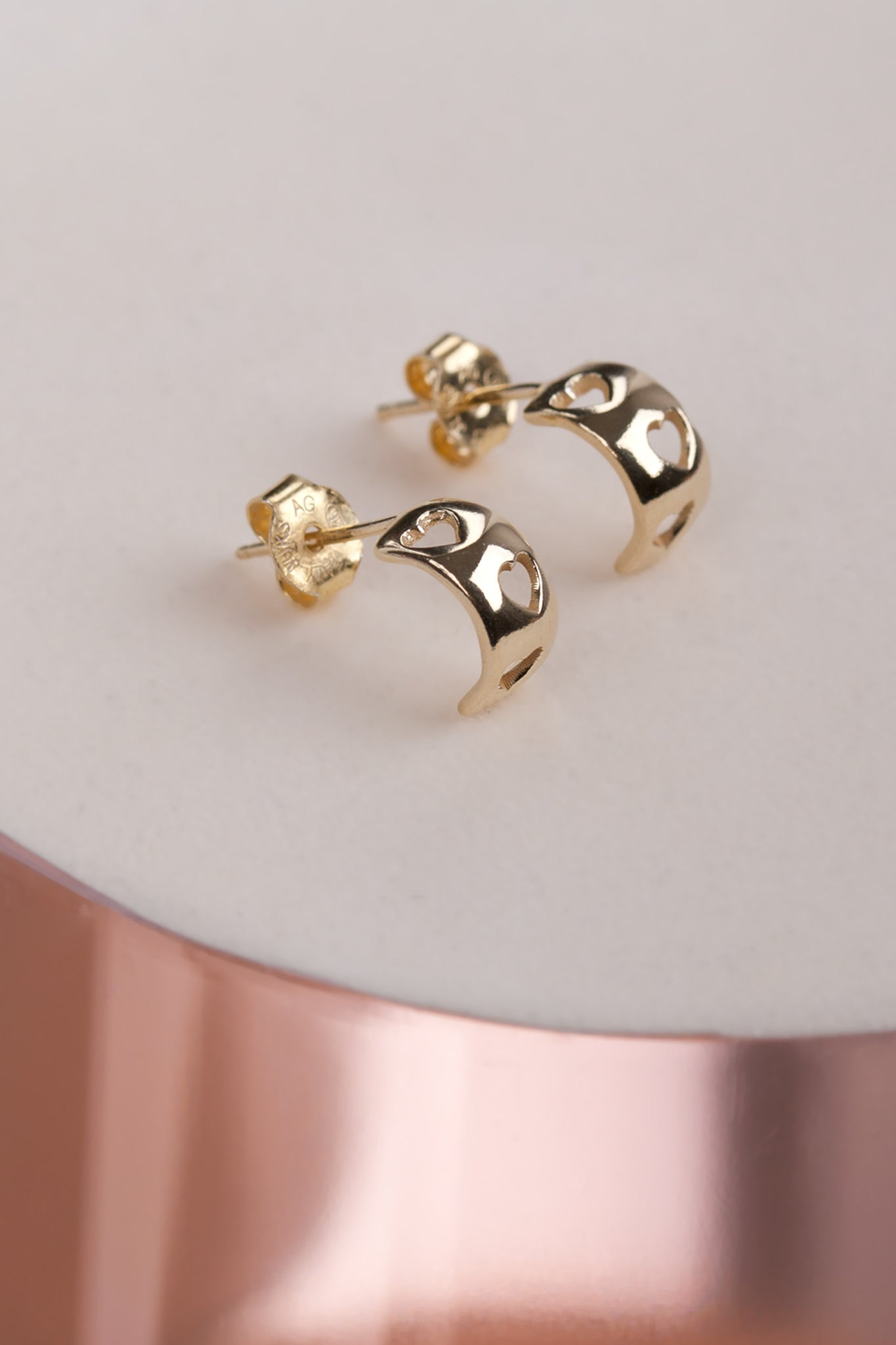 HEART EAR STUD