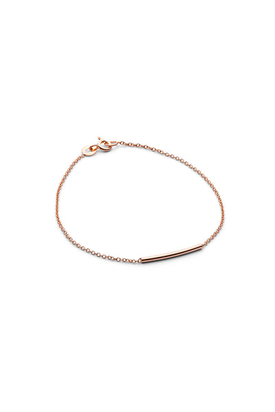 PIPE BRACELET · ROSE GOLD