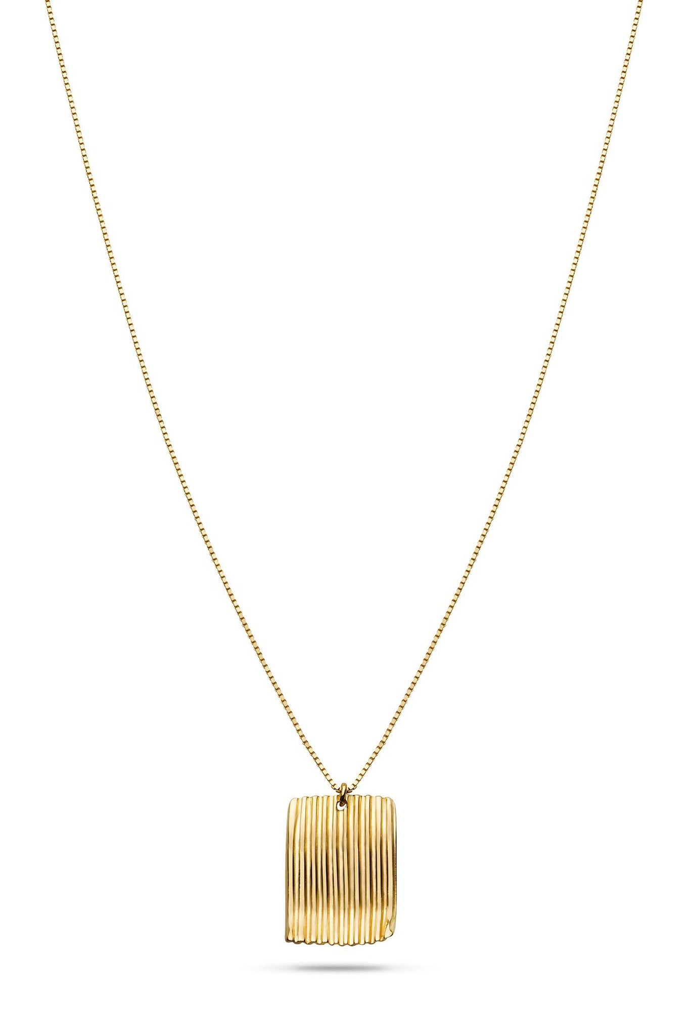 SQUARE CHIPS NECKLACE