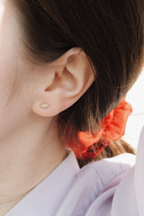 HARLEQUIN EAR STUD