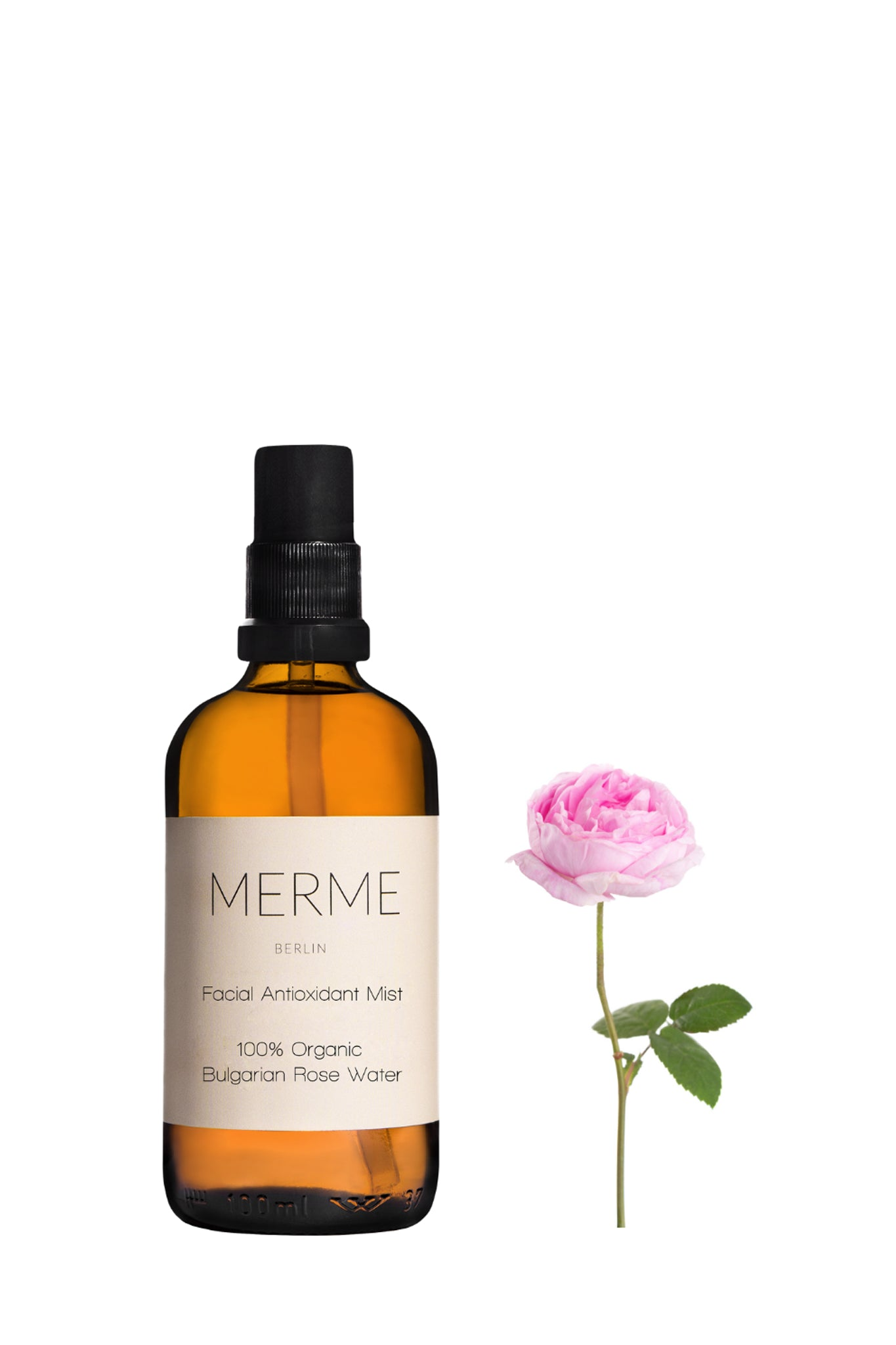 MERME · Organic Rose Water Spray 100ml