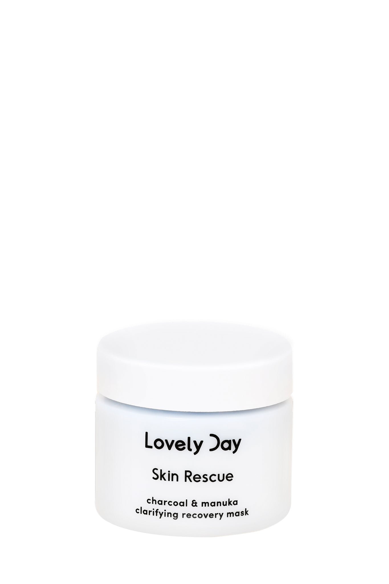 Lovely Day · Charcoal + Manuka PHA Cleansing Mask 50ml