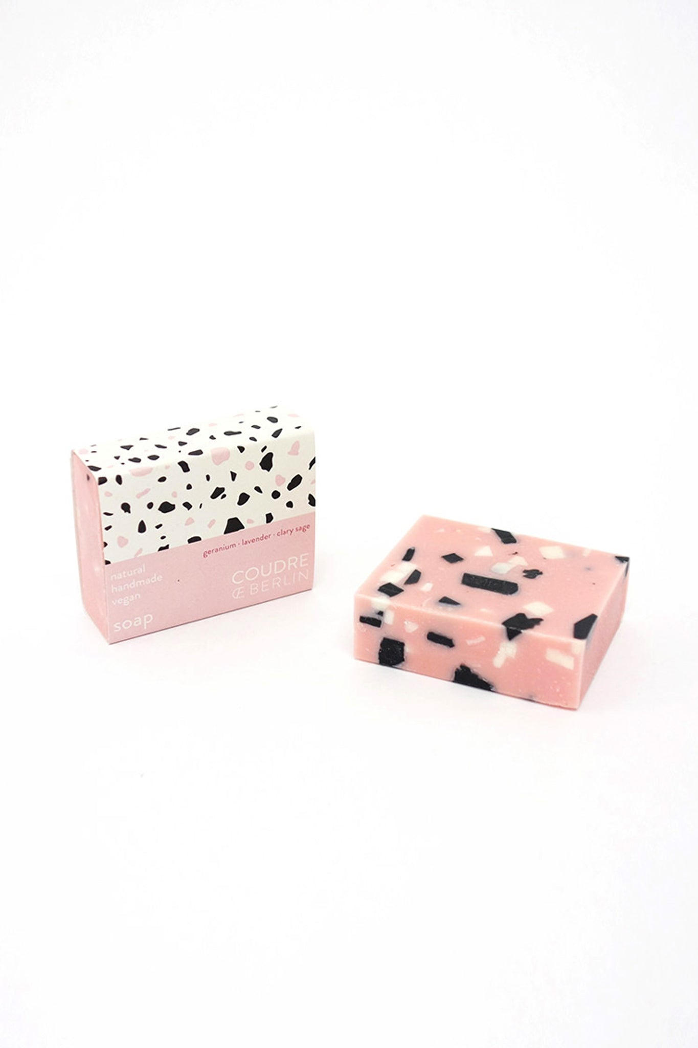 Coudre Berlin · Natural Soap Bar Rosestone 70g